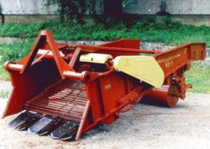 Копатель-валкоукладчик лука КЛ -1,4