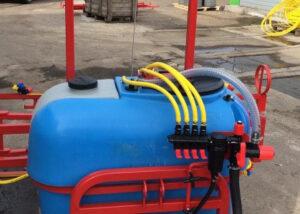 Опрыскиватель навесной D-POL 200 литров с захватом 6 метров