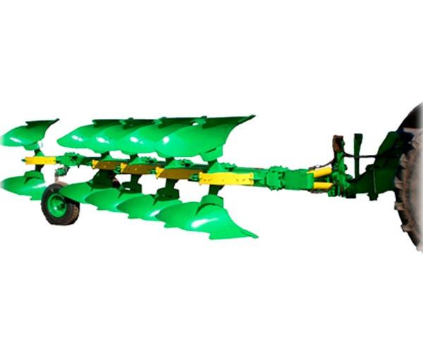 Плуг пяти корпусный оборотный полунавесной ПОПР-5-40 с рессорной защитой