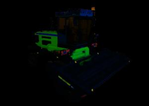 Самоходная косилка с жатками Мещера E403